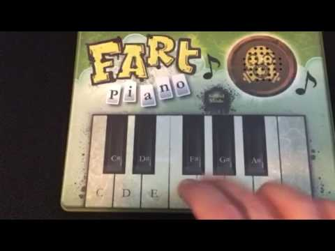 The Final Countdown on the Fart Piano