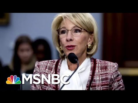Secretary Betsy DeVos Wants To Cut Federal Work-Study Program Funds | Velshi & Ruhle | MSNBC