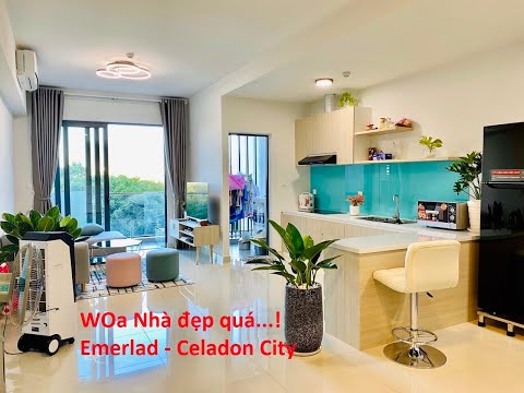 Giá bán và giá cho thuê căn hộ 1 Phòng Ngủ 53,3 m2 Khu Emerald dự án Celadon City