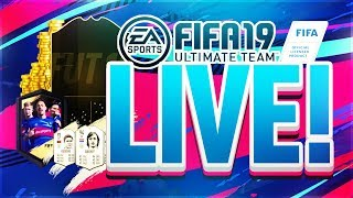 FIFA 19! PACKS/SBCS/DRAFTS!  (PS4/XBOX) FT. CLAIRE!