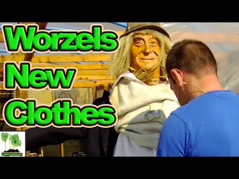 Worzel Gets New Clothes And Takes Pride Of Place On The Plot!