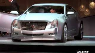 Cadillac CTS Coupe Concept Videos