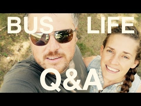 Q&A | What Life is Like on the Road w/7 Kids | BUS LIFE