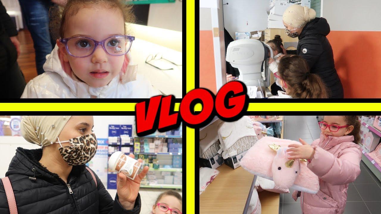 VLOG - Choix nouvelle lunette et ophtalmologue pour massilya, kamilia et maman