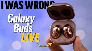 Galaxy Buds LIVE Honest Review after 1 Month of Use!