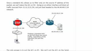 ccna free acl boot camp 9 13 standard extended acl lab