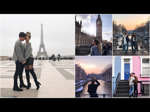 Paris, Amsterdam & London // Europe 2017