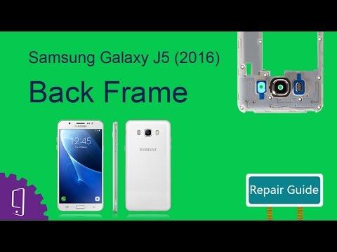 Samsung Galaxy J5 (2016) Back Frame Repair Guide