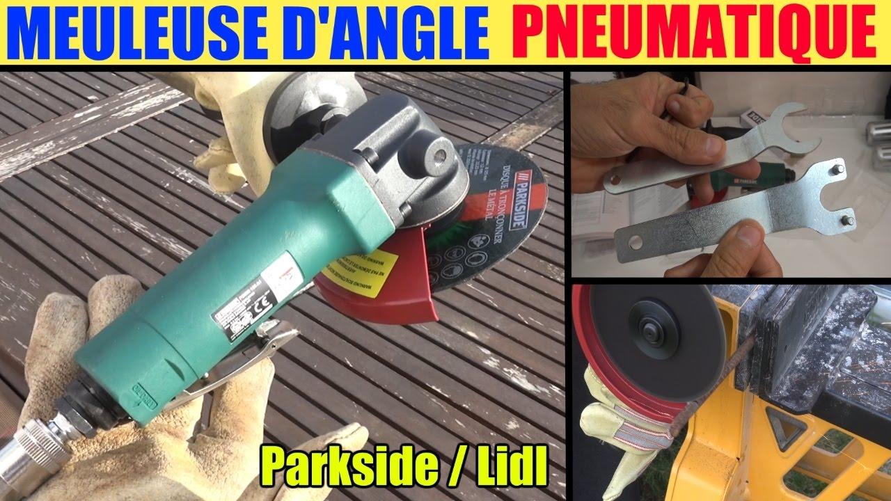 Parkside Air Outils Pneumatique Marteau-burineur pour compresseur air