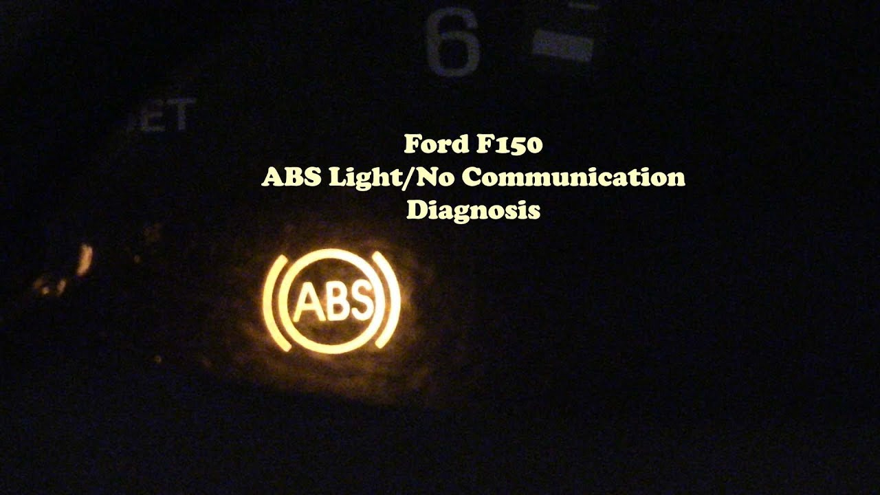 Ford F150 ABS Light On - YouTube