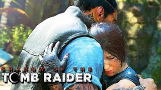 Shadow of the Tomb Raider Gameplay German - Wiedersehen mit Jonah