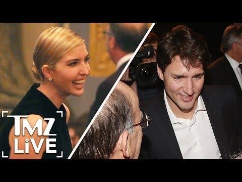 Ivanka Trump and Justin Trudeau Together Again | TMZ Live