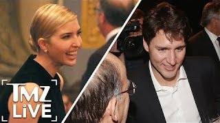 Ivanka Trump and Justin Trudeau Together Again | TMZ Live