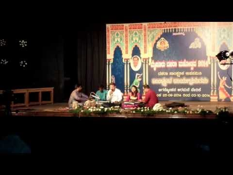 Mysore, Dasara Festival, music performance in the Jaganmohan Palace