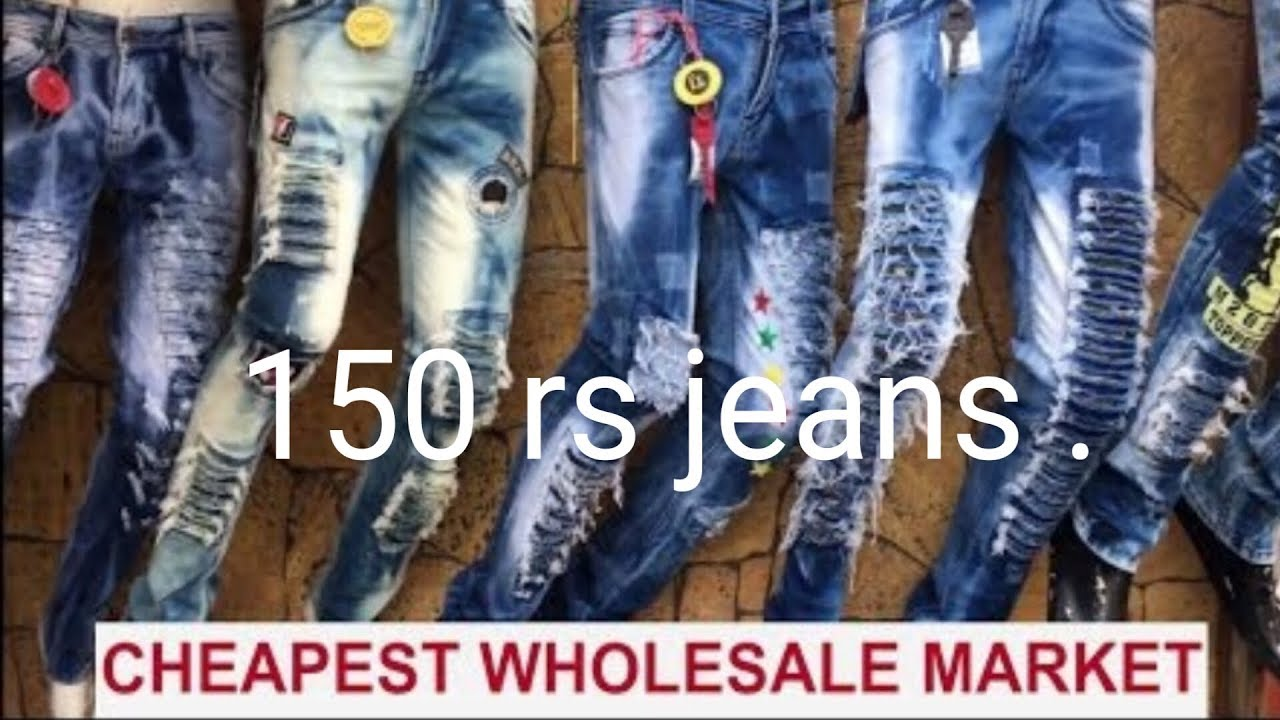 30ef9447b7a 150 rs jeans and t-shirts.tank road karol bagh - YouTube