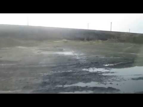 Это дорога в черте города Гуково Ростовской области - Гуково -Углерод.