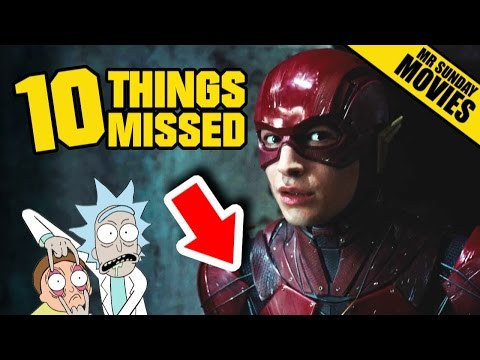JUSTICE LEAGUE Trailer - Easter Eggs & Things Missed #SDCC