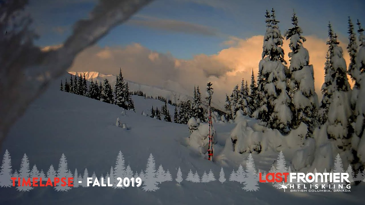 2019 Fall to Winter Timelapse
