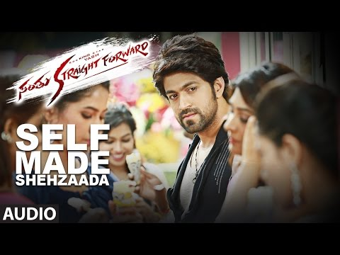 Santhu Straight Forward Songs | Self Made Shehzaada Full Song | Yash,Radhika Pandit | V. Harikrishna