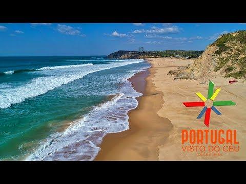 santa-rita-&-porto-novo-beaches-aerial-view---torres-vedras---4k-ultrahd