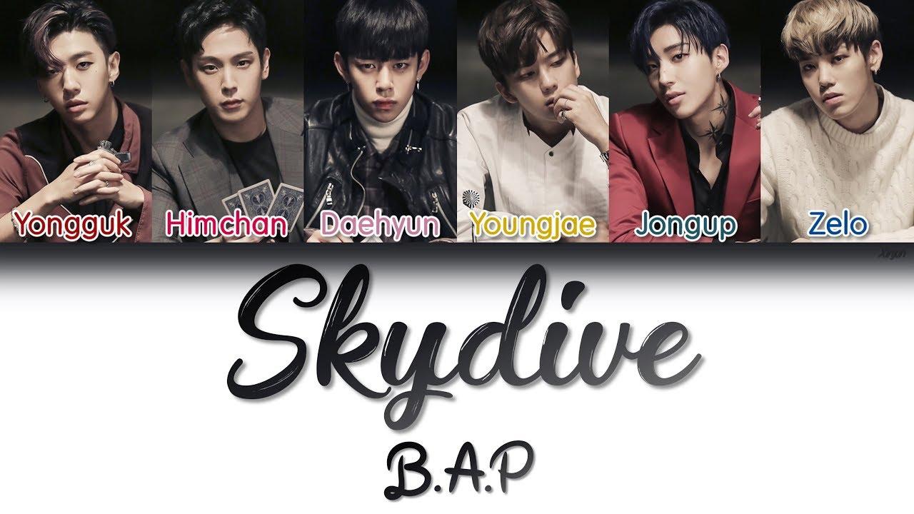 Download B.A.P (비에이피) - Skydive | Han/Rom/Eng | Color Coded Lyrics |