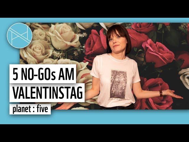 Valentinstag Geschenk: 5 No Gos am Valentinstag | planet : five | planet : panda