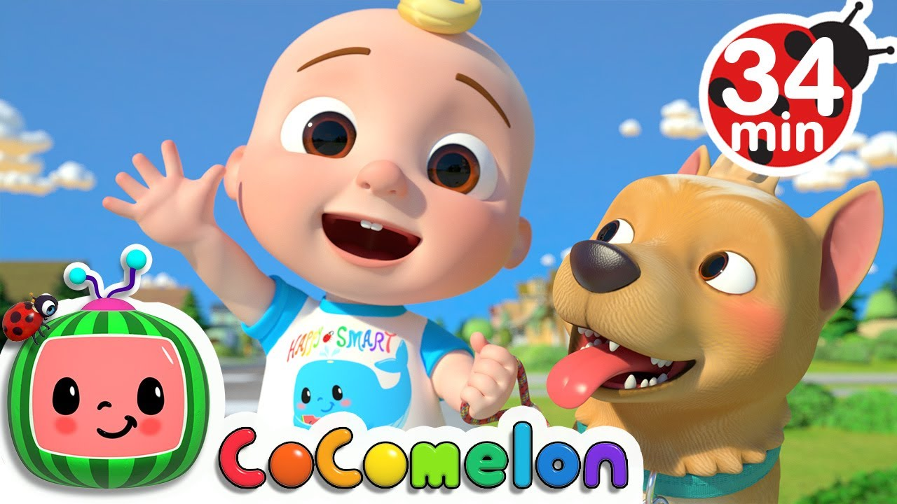 JJ Song + More Nursery Rhymes & Kids Songs - CoCoMelon ...