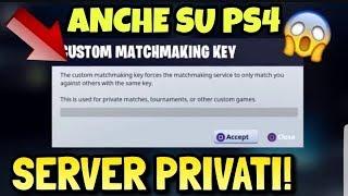 FORTNITE SERVER PRIVATI / PASS IN CHAT / PS4/PC/XBOX