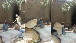 شاهد ابداع الباكستاني في الخبز والحجم الخرافي