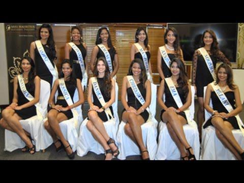Les 12 finalistes de Miss Mauritius 2015