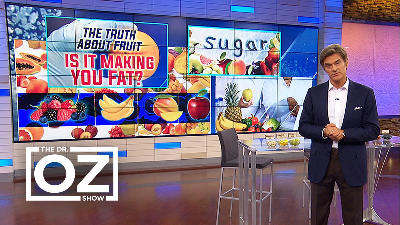 Dr. Oz Explains How Some Fruit Could Be Bad for You - YouTube
