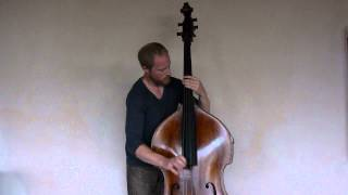 "Upright slap bass ""Noto Swing"" played by Charles Mertens"