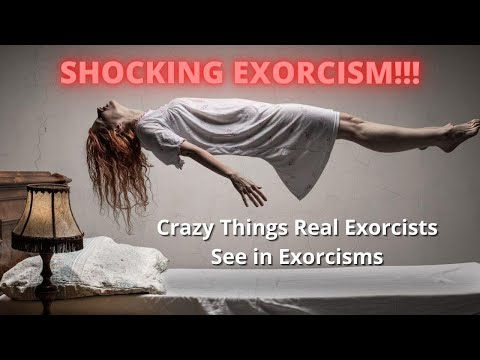 SHOCKING EXORCISM!!! Crazy Things Exorcists See with Fr. Vince Lampert