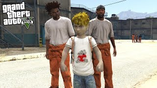 GOING TO PRISON IN GTA 5 AT AGE 10!!! (GTA 5 REAL LIFE MOD)