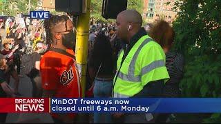Protesters Describe What Happened When A Semi-Truck Drove Into Crowd On I-35 Bridge