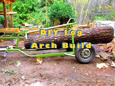 ATV Log Arch Skidder