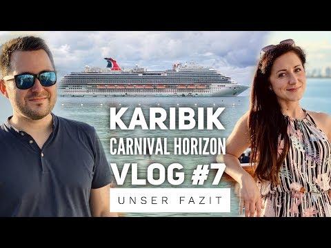 Unser Fazit zur Reise mit der Carnival Horizon - Vlog #7