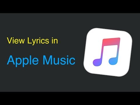 How To View Lyrics In Apple Music (and ITunes)