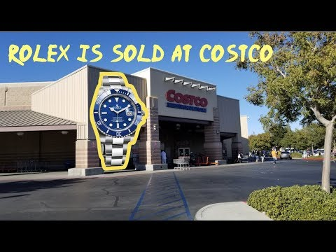 Shopping For Rolex At Costco
