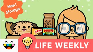 Store Your Things! | Toca Life: City & Toca Life: School | @TocaBoca