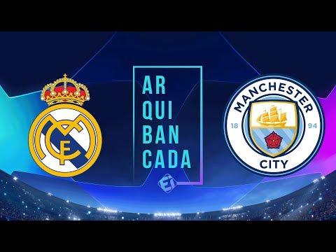 REAL MADRID x MANCHESTER CITY (narração AO VIVO) - Champions League