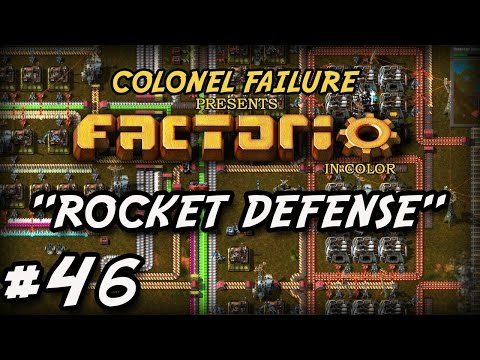 Factorio #46 : Building rocket defense