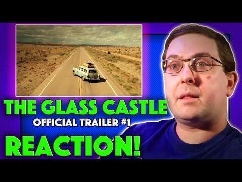 REACTION! The Glass Castle Trailer #1 - Brie Larson Movie 2017