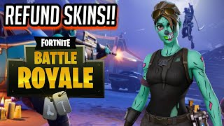 *NEW* HOW TO REFUND YOUR FORTNITE SKINS😱 GET YOUR V BUCKS BACK *MUST WATCH*-Fortnite:Battle Royale!