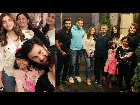 Aishwarya Rai, Abhishek, Aaradhya Join Alia Bhatt, Ranbir Kapoor, Rishi Kapoor Famjam In New York Mp3