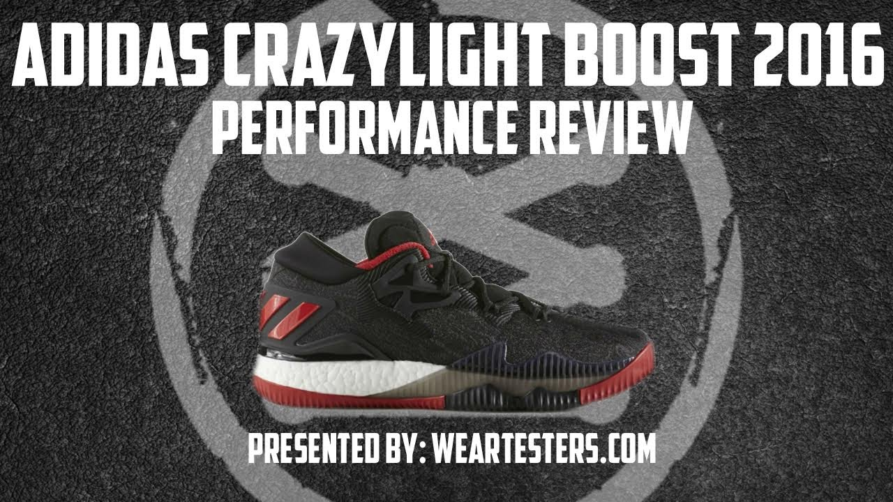 16c3bf613b958 adidas CrazyLight Boost 2016 Performance Review - YouTube