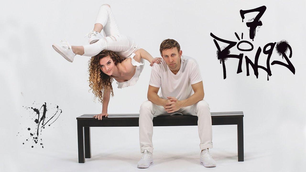 7 Rings - Ariana Grande | Sofie Dossi & Matt Steffanina image