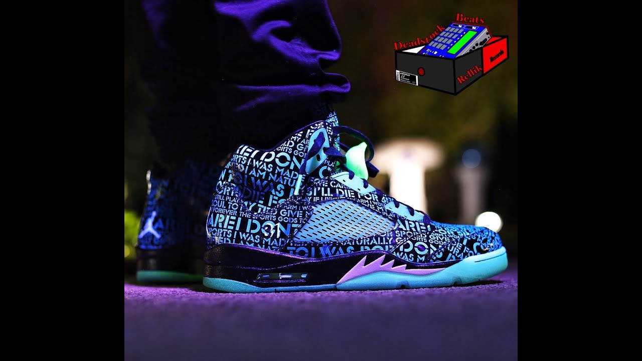 lowest price 533fa 718d1 Nike Jordan 5 doernbecher (DB) (Glow in the dark On Feet) + Pictures  (eXimus 2007 Beat)