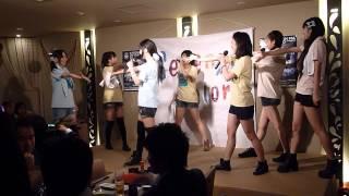 2014.4.8 虹家ステージ アンコール ひかりん、さやぴ、おみちゃす、みずてぃ、ゆいちー、れーれ、せいらん.