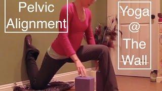 Yoga @ The Wall: Pelvic Alignment & Hip Flexors - LauraGyoga